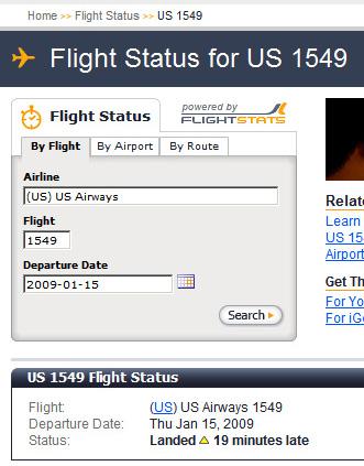 past dated flight status